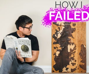 Game of Thrones Wooden Topographical Map: How to Model and Carve W/ Fusion 360