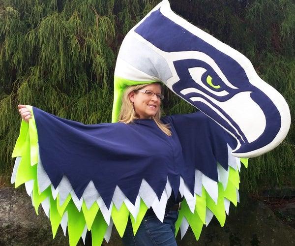 Hawk Wings Poncho