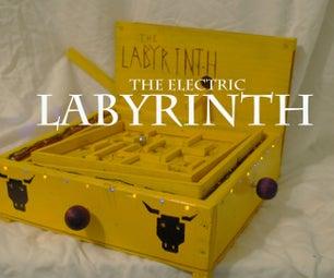 Electric Labyrinth: a DIY Arcade Game