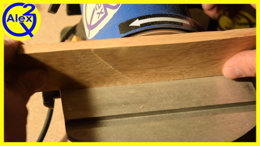 Squaring the Handle Material (Sort Of)