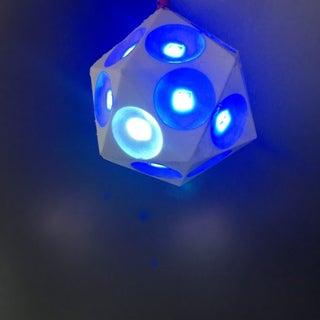 Illuminated Christmas Tree Ornament [WiFi Controlled]
