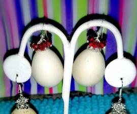 Charming Quail Egg Earrings