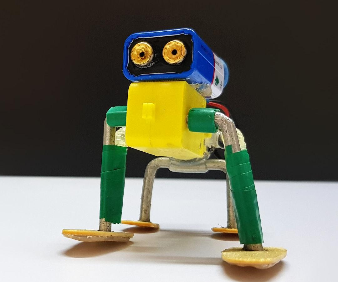 How to Make Walking Robot - Cutest DIY Robot