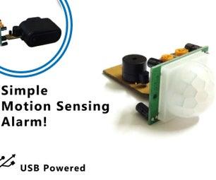Make an Simple Motion Sensor Theft Alarm! (PIR)