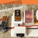 3D Printed Brushless Motor
