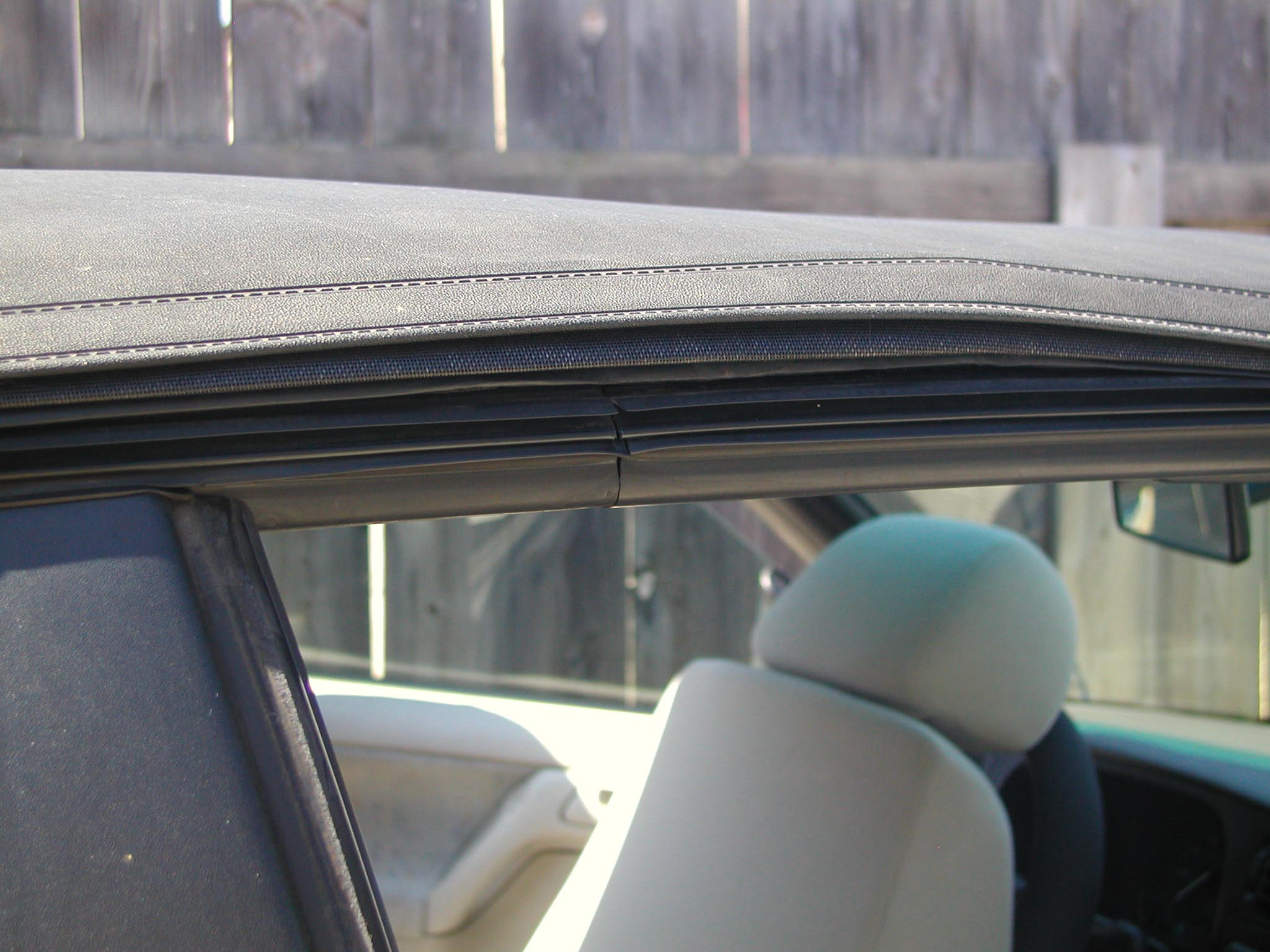 Replacing a Car Convertible Top