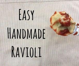 Easy Handmade Pesto Ravioli
