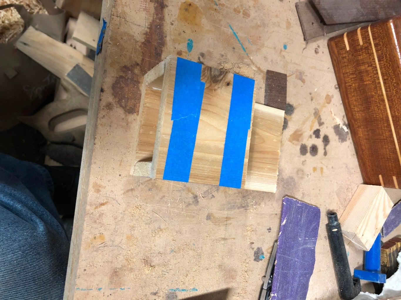 Glue Up the Body