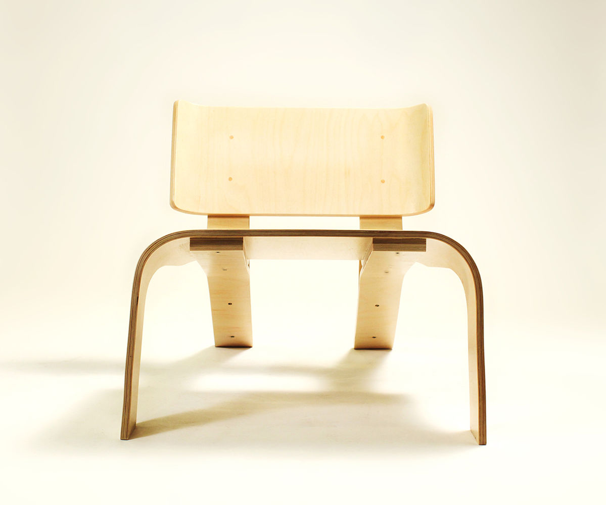 CC Chair - how to bend plywood