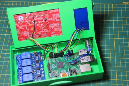 Prepare and Connect the PSOC and RFID Boards and Connect the Relays