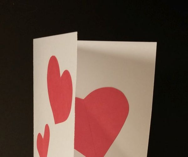 Valentine Day Heartbeat Card
