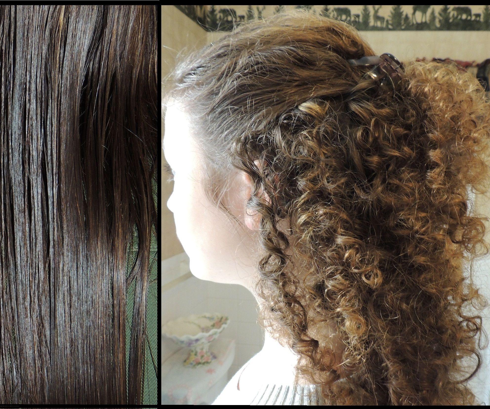 Spectacular Curls Using Straws!