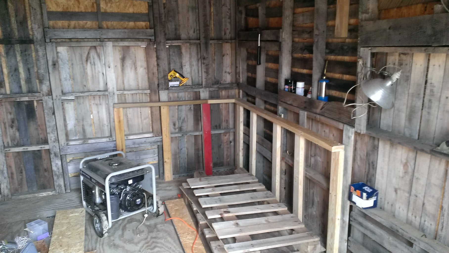Adding a Workbench to the Inside