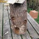 Log Fairy House