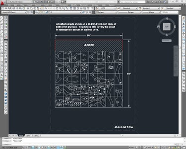Lay Out the Parts and Print the Templates