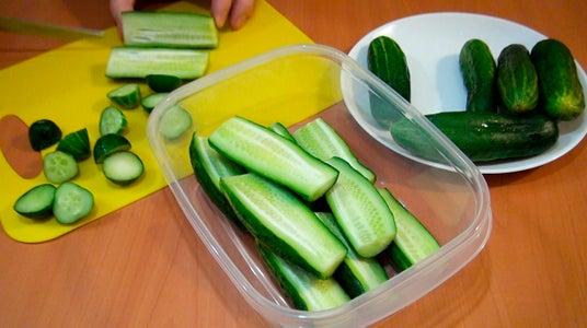 Cut the Cucumbers