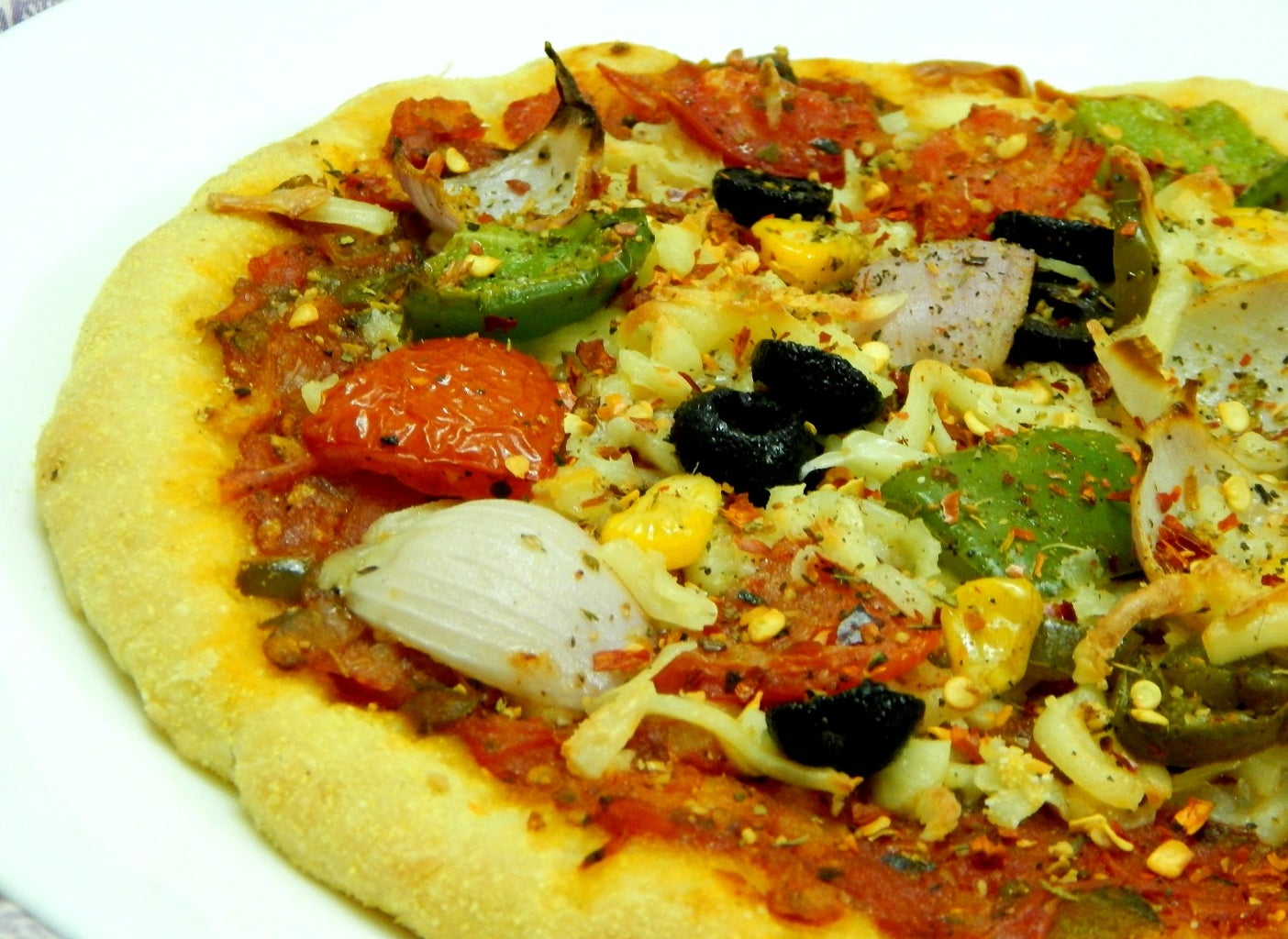Final Preparation of Pizza..!