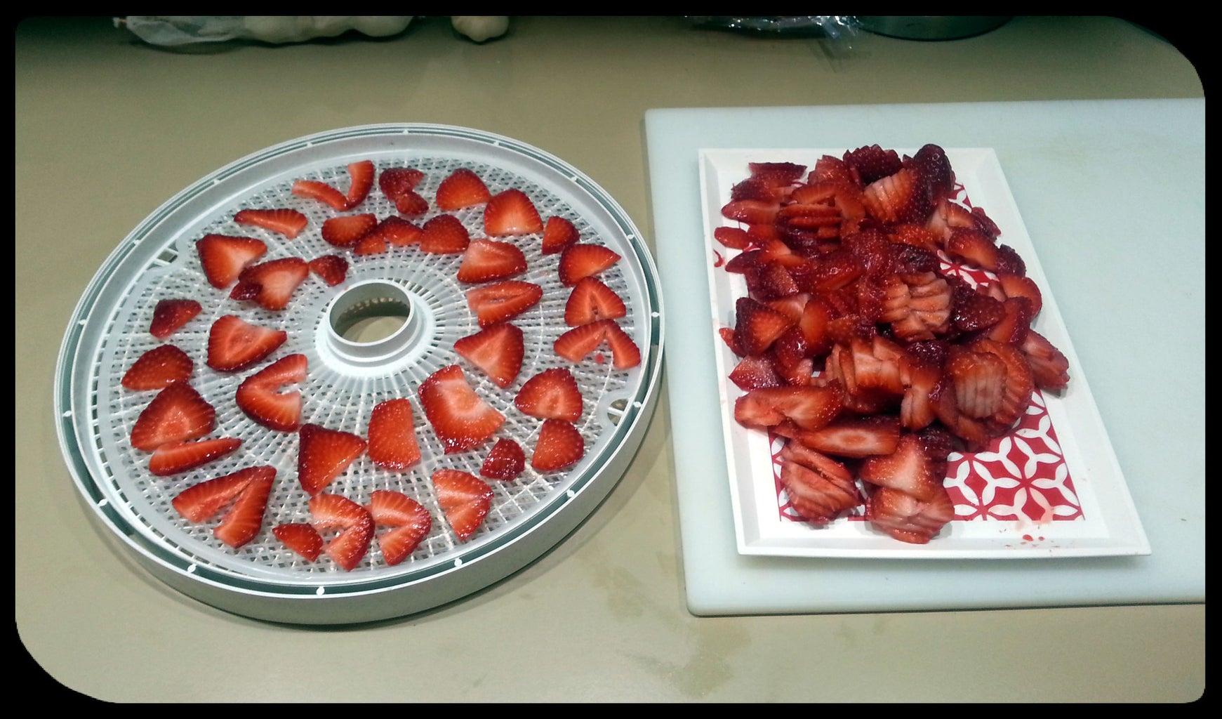 Arrange Slices and Dry