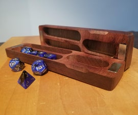 Using Fusion360 to Make a Project/Dice Box