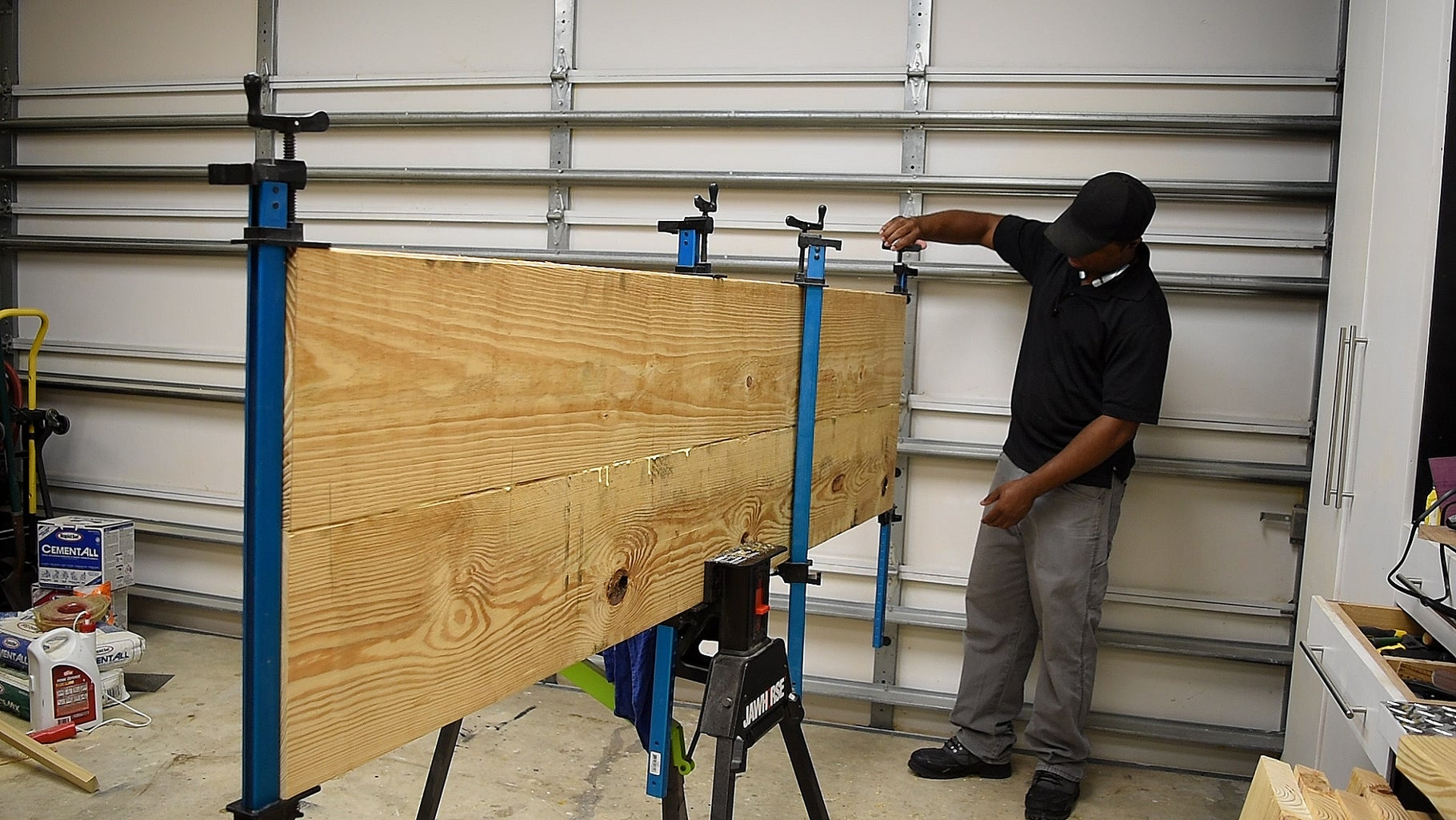 Making the Back and the Side Panel
