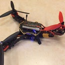Y220 - Mini Tricopter (Quadcopter Frame Transformed)