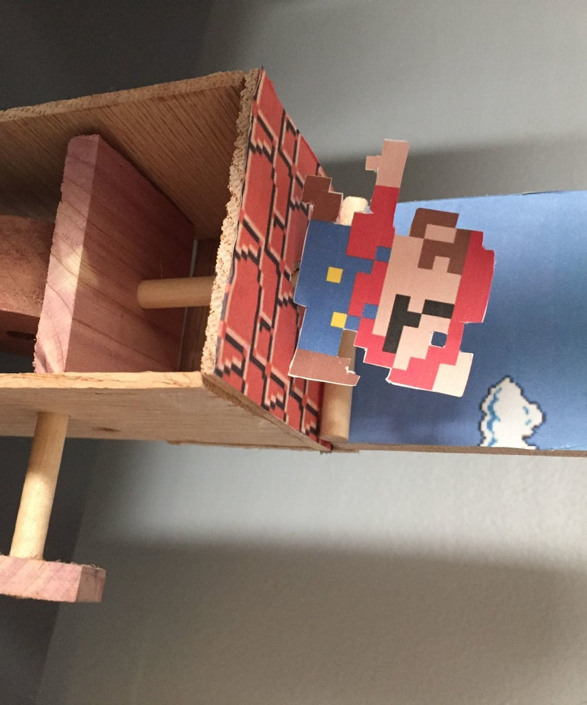 Jumping Mario Automaton