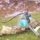 Bicycle operated water pump (Tuntipump)