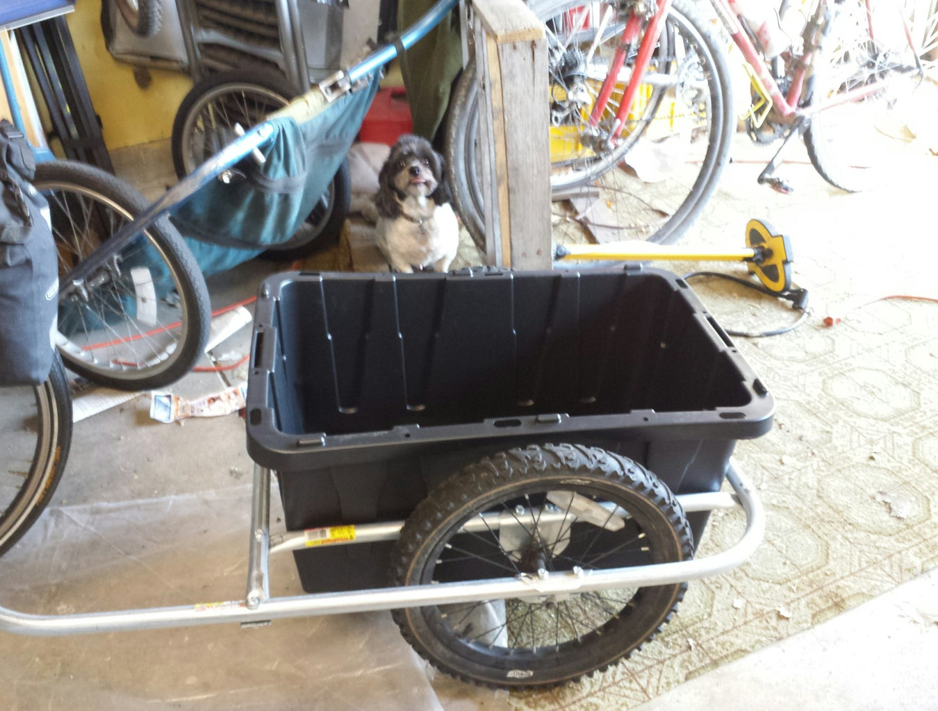 Secure Tub to Trailer
