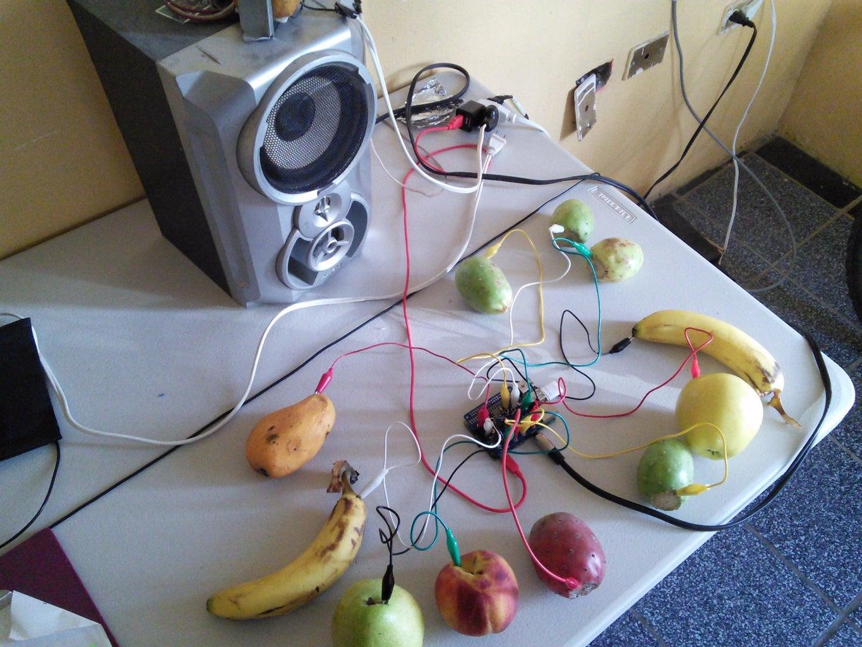 Teclado De Frutas (tonos MIDIS)