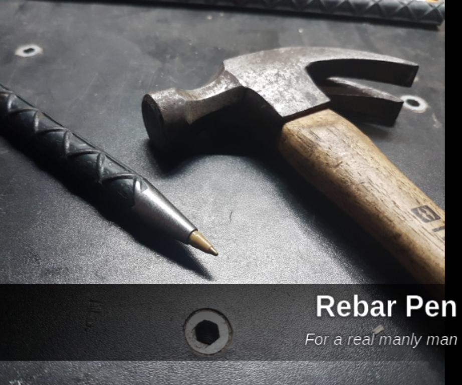 Rebar Pen / Pluma De Varilla
