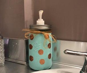 Mason Jar Soap Dispenser 💮