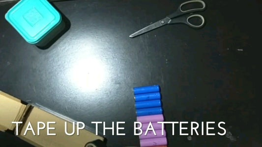 Tape Up the Batteries