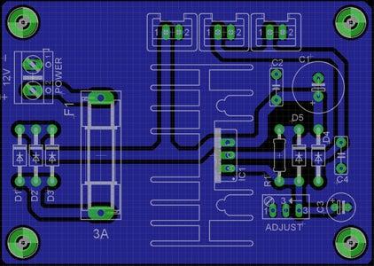 5V X 3A Regulated Power Supply