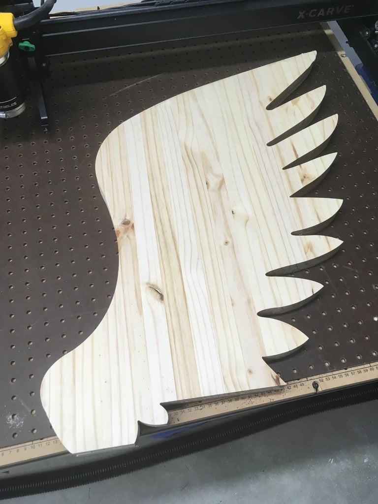 Carving the Wings