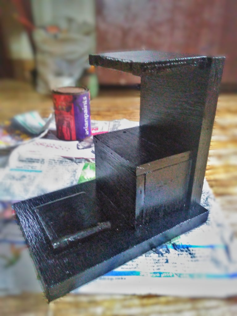 Making of the Machine Frame & Painting