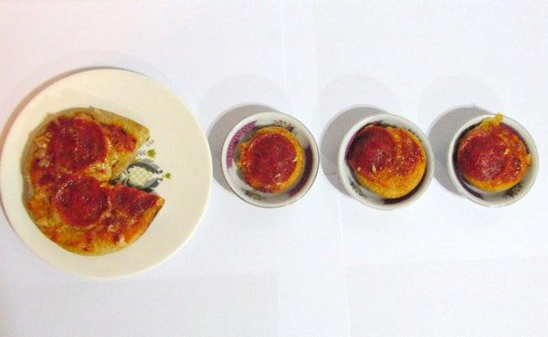 Mini Pac-Man Pizza Bites