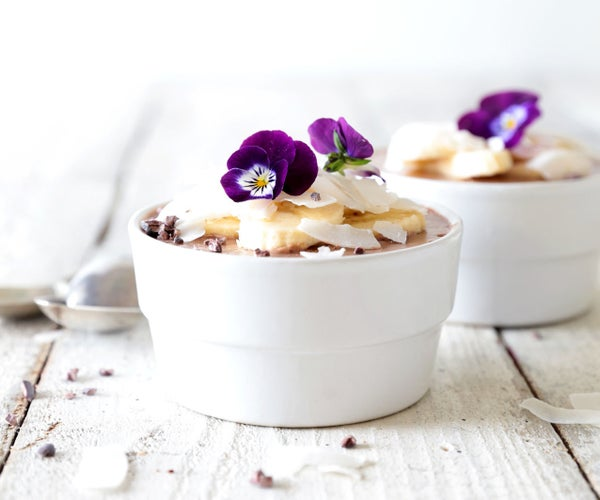 Coconut Chocolate Mousse (Only 3 Ingredients!)