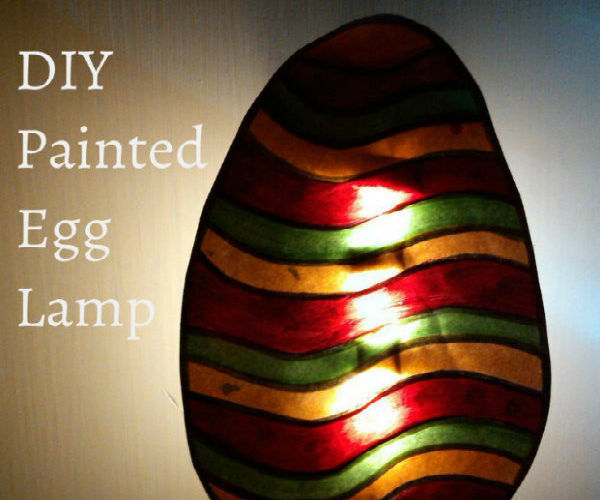 Glowing Easter Lamp