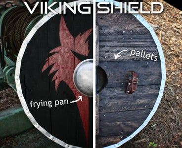 Pallet Wood Viking Shield Make It Medieval Ish 22 Steps With Pictures Instructables