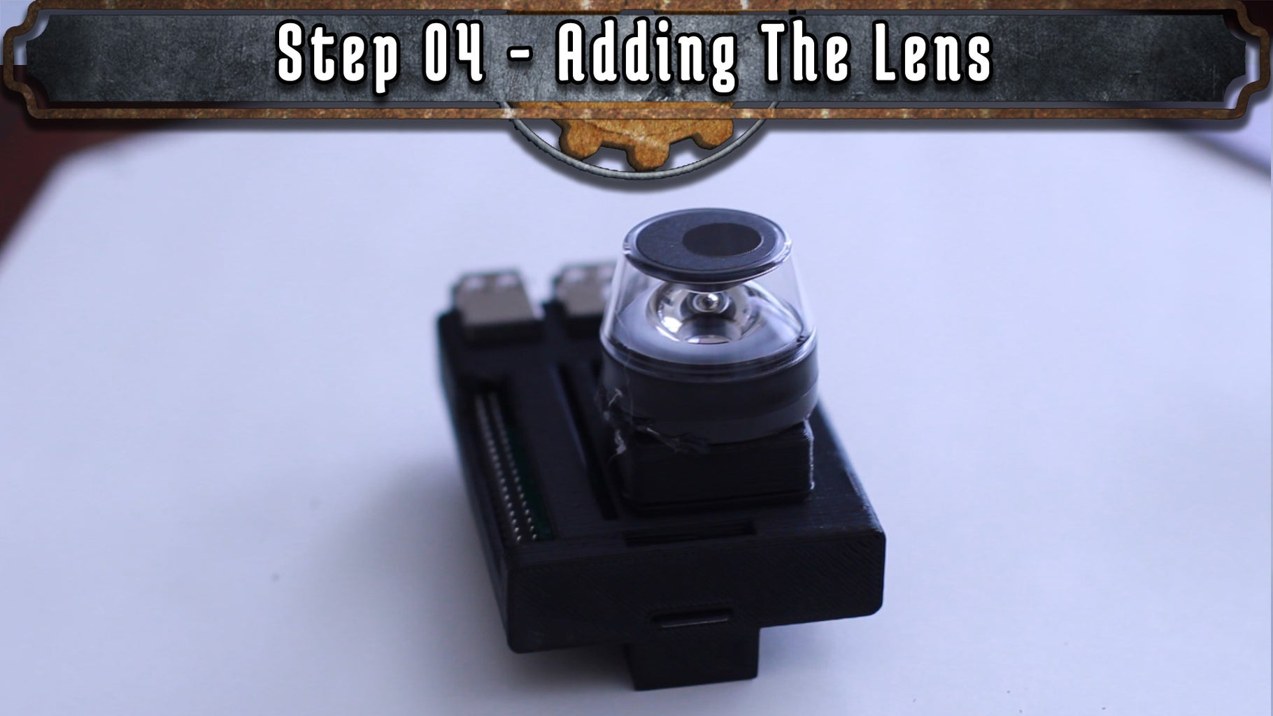 Adding the Lens