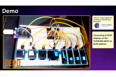Wiring and Demo