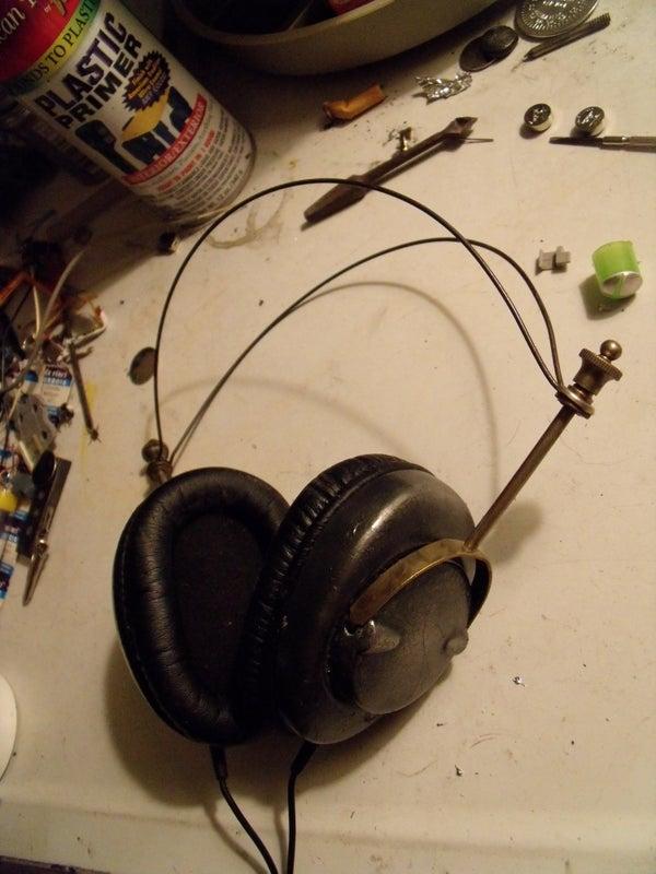 Easy Retro Steampunk Headphones