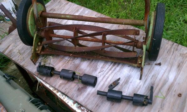 Fixing My Old Reel Mower