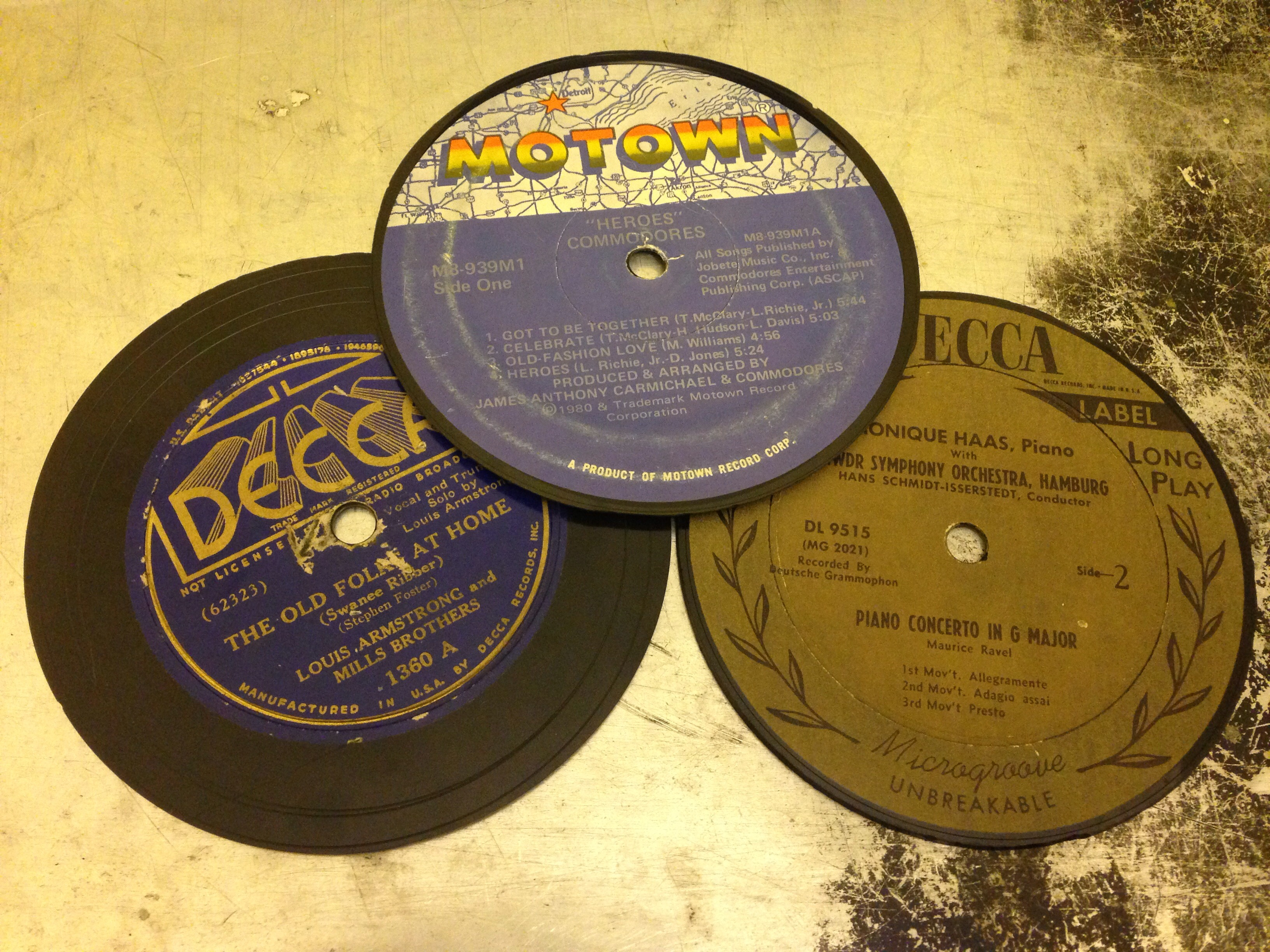 Musical Coasters