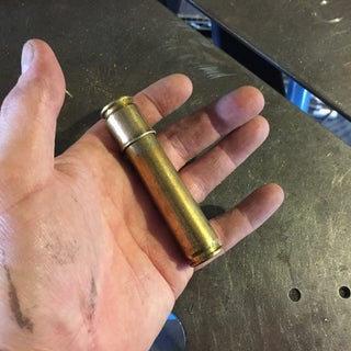 Brass Shell Container