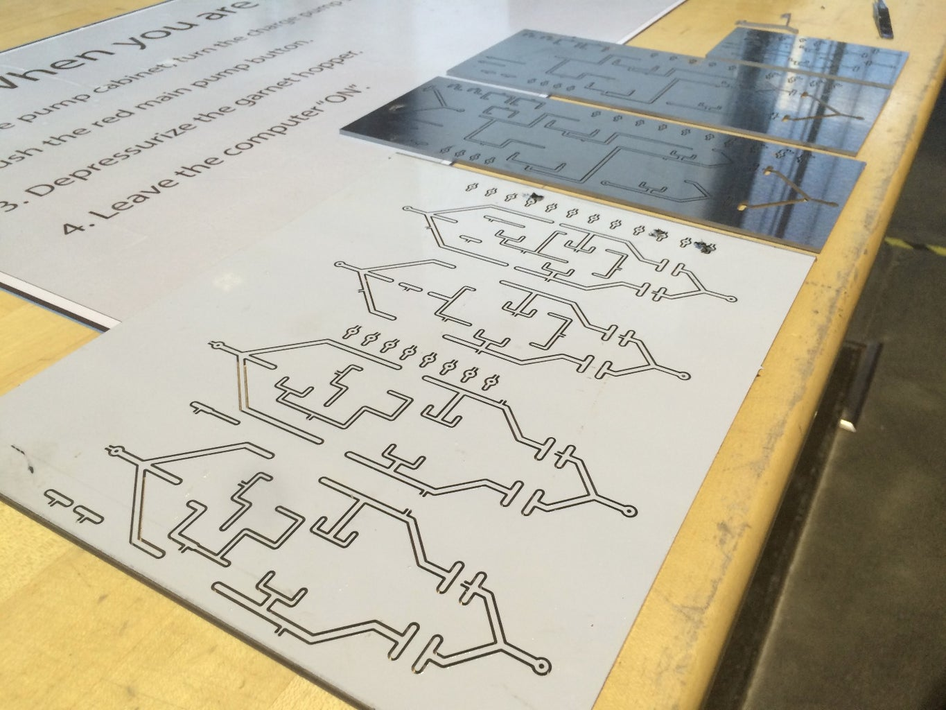 Waterjet Your Traces