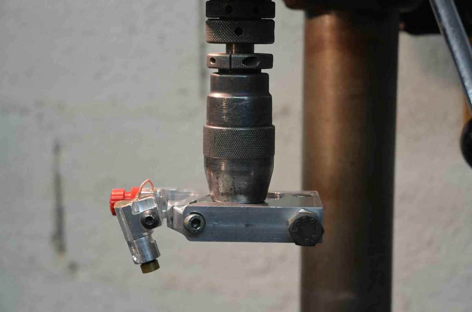 On Drill Press