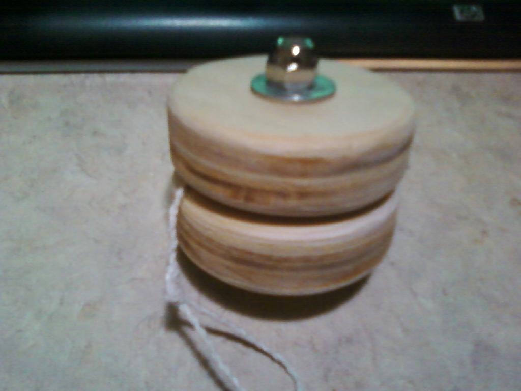 Homemade Wooden Yo-Yo