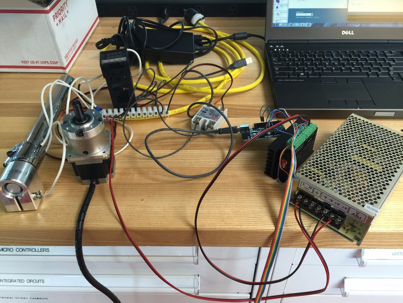 Assemble Electronics and Test