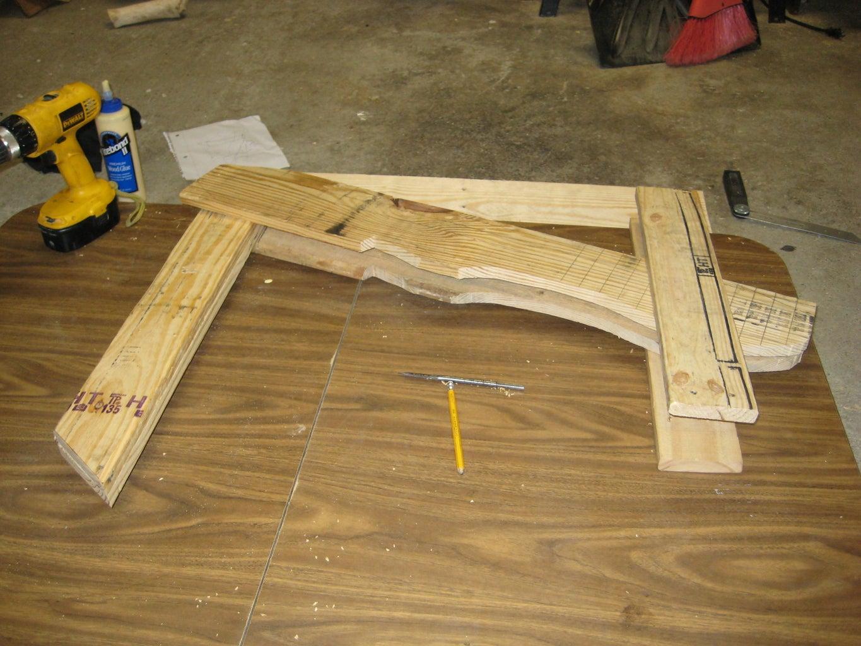 Assemble the Opposite Seat Stringer/frontleg/backrest Support
